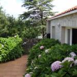 Terraza exterior de Casa do Covelo (Poio) Rías Baixas