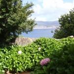Vistas desde Casa do Covelo a la Ría de Pontevedra