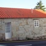 fachada exterior de Casa do Covelo (Rías Baixas)
