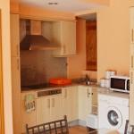 Cocina de Casa do Covelo en Poio, Rías Baixas