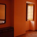 Habitación de matrimonio de la Casa de Tambo en Samieira, Poio, Rías Baixas
