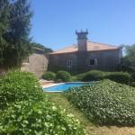 Vista principal de La Casa de Don Alfonso en Cerdedo, Pontevedra