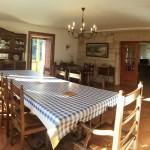 Comedor de La Casa de Don Alfonso en Cerdedo, Pontevedra