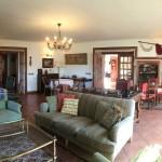 Salón de La Casa de Don Alfonso en Cerdedo, Pontevedra