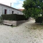 Jardín de la Casa de Tambo de Las Casitas de Samieira