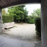 Garaje cubierto de la Casa de Tambo en Rías Baixas